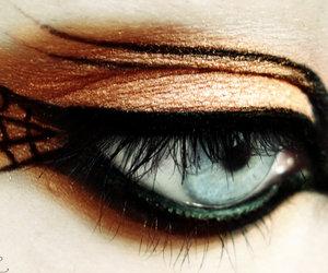 Halloween, eye, and make up image