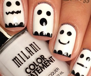 black and white, cool, and Halloween image