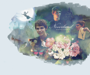 robbie kay, neverland, and once image