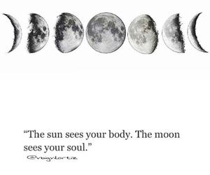 hippie, moon, and sun image