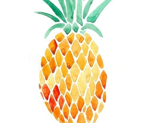 pineapple, fruit, and art image