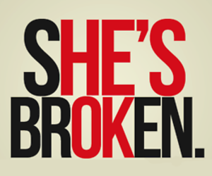 broken, she, and her image