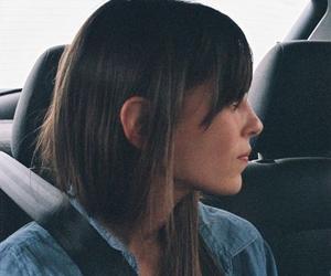 brunette, vignette, and ear image