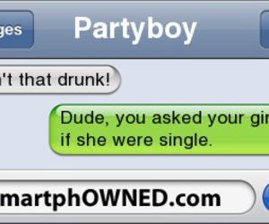 drunk, funny, and smartphowned image