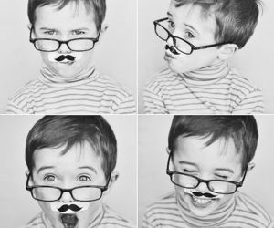 cute, boy, and mustache image