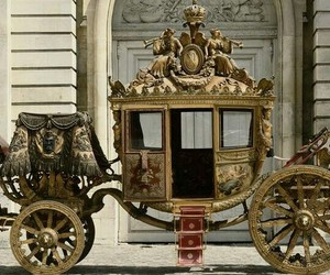 carriage, history, and opulent image