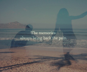 memories, quote, and pain image