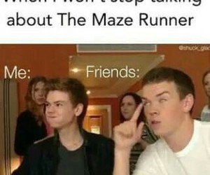 will poulter, maze runner, and gally image