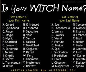 diy, Halloween, and name image