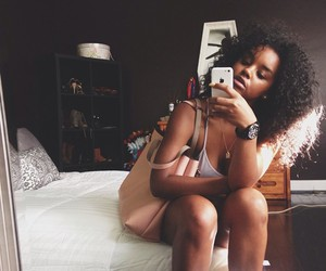 african american, natural hair, and black image
