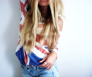 fashion, girl, and america image