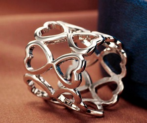 hollow scarf ring, love heart scarf ring, and get together scarf ring image