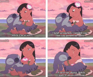 disney, cute, and lelo and stich image