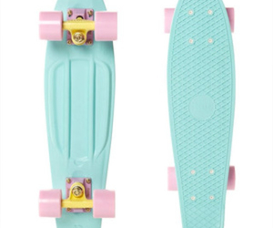 blue and penny board image