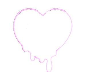 transparent, heart, and overlay image