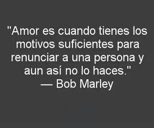 love, bob marley, and frases image