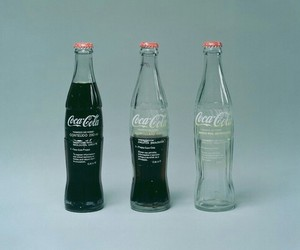 coca cola, drink, and bottle image