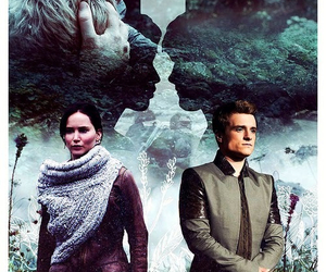 peeta mellark and katniss everdeen image