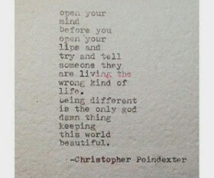 beautiful, quote, and christopher poindexter image