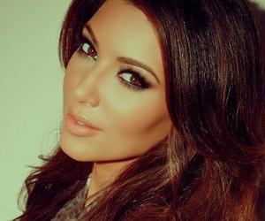 beautiful, kim kardashian, and beauty image