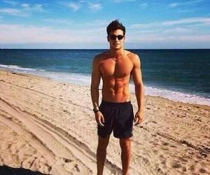 boy, beach, and Hot image