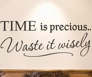 time, quote, and precious image