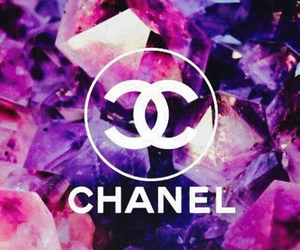 chanel, glitter, and pink image