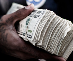 money, photography, and cash image