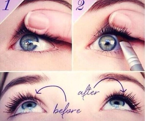 eyes, makeup, and tips image