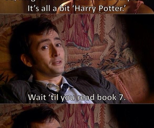 doctor who, book, and cry image