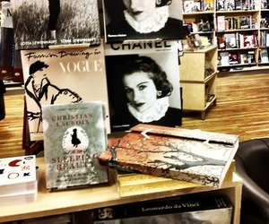 books, chanel, and coco chanel image