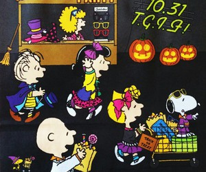 Halloween, snoopy, and wallpaper image