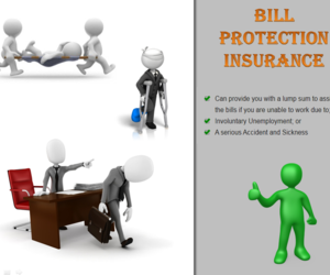insurance, bill cover, and bill protection image
