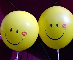 funny, smile, and yellow image