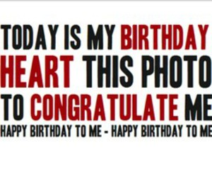 birthday, me, and congratulate image