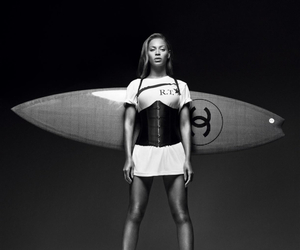 beyoncé, chanel, and queen b image
