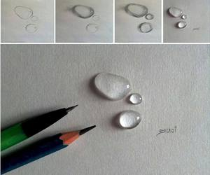 art and water drops image