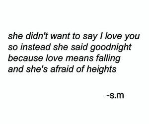 love, quotes, and goodnight image