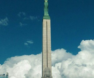 clouds, freedom, and latvia image
