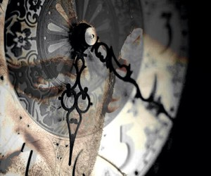 clock, aesthetic, and vintage image