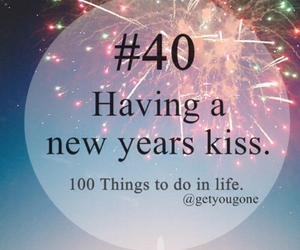 kiss, 100 things to do in life, and 40 image