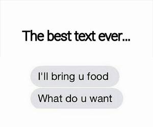 food and text image