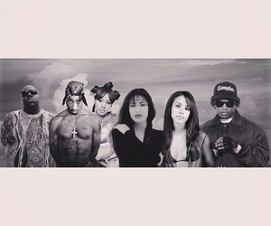 aaliyah, biggie, and biggie smalls image