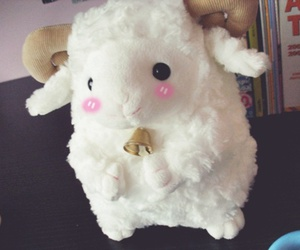 doll, stuffed animal, and sheep image
