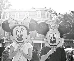 disney, mickey, and minnie image