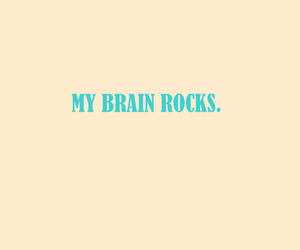 brain and rock image