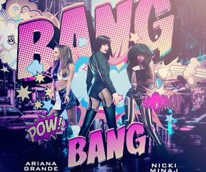 ariana grande, bang bang, and nicki minaj image