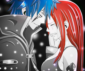 fairy tail, anime, and jerza image