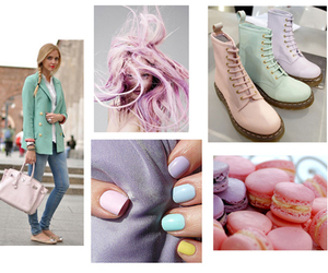 boots, fashion, and nails image