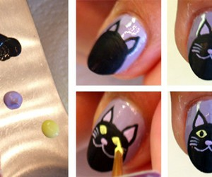 Halloween, happy halloween, and uñas decoradas image